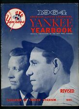 Yankees 1964 Official Yearbook REVISED Edition Mickey Mantle Maris Yogi Berra