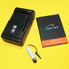 High Power AceSoft 4120mAh Battery Universal Charger Pen for LG V20 LS997 Sprint
