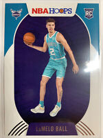 2020-21 Panini NBA Hoops LaMelo Ball rookie card #223! Charlotte Hornets!! HOT!!