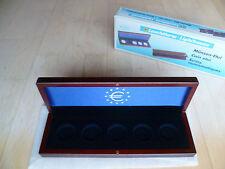 1 LEUCHTTURM Münzetui VOLTERRA, für 5x2-Euro-Gedenkmünzen in Kapseln NEU&OVP 023