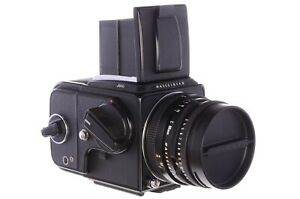 Hasselblad 501C camera with 80mm C lens, A12 back, excellent, see description