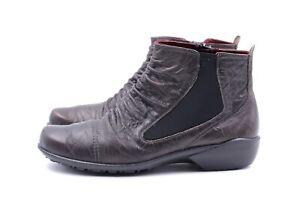 ROMIKA Damen Stiefeletten Boots EUR 39 UK 6 Braun Echt Leder