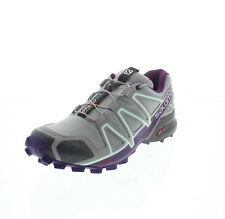 00 Salomon Speedcross 4 Scarpe Donna Quarry/acai/fair Aqua 38