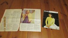 2 vintage Knitting Patterns-Lit cape et lit Veste