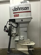 "1991 Johnson 150-HP 2 Stroke Ocean Pro Outboard Motor 25"" COUNTER ROTATING 175"