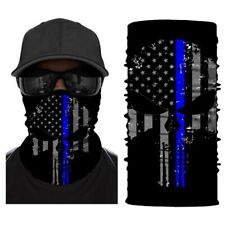 Full Face Bandanas Multifunctional Headwear Balaclava Mask Neck Gaiter, US Flag