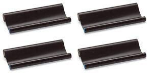 4x Fax Thermo Rollen kompatibel Brother PC 72 RF PC72RF T72 T74 T76 T78