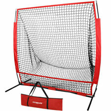 Baseball Training Aids Net Softball Hitting Batting Practice W/Carry Bag EZ Set