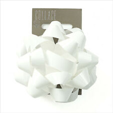 Gift Wrap Bow Individual White Wrapping Bows Collage Gift Dressings