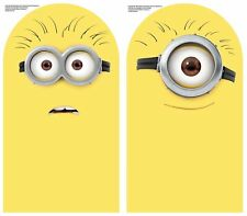 "2 DRY ERASE MINIONS WALL DECALS Despicable Me Stickers Kids : 9.25"" x 16.75"""