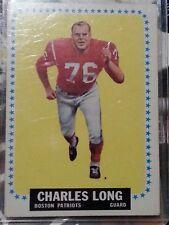 1964 Topps Charles Long New England Patriots #13 Football Card