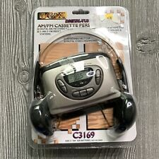 New Sealed GPX AM FM Cassette Personal Stereo Vintage Headphones Player