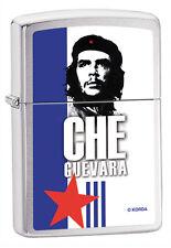 Zippo ERNESTO CHE GUEVARA BANDIERA CUBA Originale Accendino a Benzina Regalo