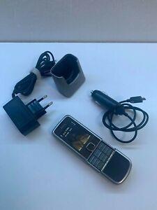 Nokia 8800 CARBON ARTE Titanium Phone Made in Finland
