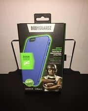 NEW BodyGuardz Shock Case with Unequal Technology for iPhone 6 / 6s - Blue