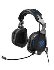 MadCatz F.R.E.Q TE Stereo Gaming Headset for PC/Mac matt Black BLUE