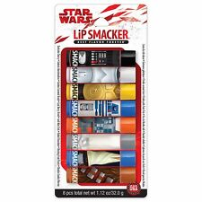 LIP SMACKER* 8pc Set STAR WARS Character DISNEY Flavored Balm PARTY PACK New!
