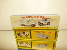 MATCHBOX DY-15/YY-65SB - GIFT SET M-2 AUSTIN A40 & AUSTIN 7 VAN - 1:43 - IB