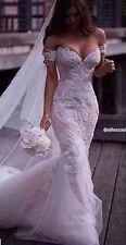 Gorgeous Arabic Formal Lace Mermaid Wedding Dress,