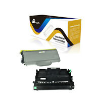 ABvolts Compatible TN360 Toner + DR360 Drum for Brother MFC-7440 MFC-7840 -2Pack