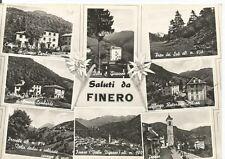 160708 VERBANIA MALESCO - FINERO - VIGEZZO - SALUTI da... Cartolina viagg. 1959