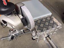 Whitewall Machine Tyre Buffer Buffing Wheel 10mm Flat  Diamond Coated