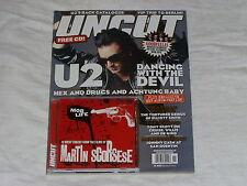 UNCUT magazine November 2004 #90 + Mob Life CD songs from Scorsese films U2