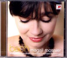 Magali Mosnier: Bach FLUTE Italian concerto Siciliano Polonaise badinerie CD NUOVO