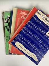 Vintage Piano Guitar Courses Belwin Leila Fletcher John Thompson
