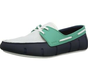 SWIMS Men's Low Sport Loafer - Navy / Smaragd