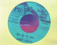"Dynamic Corvettes ""Keep Off the Grass"" wah-wah funk psych garage 45 - rare & NM"