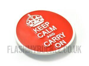 Keep Calm & Carry On Belt Buckle