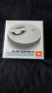 JBL ON TOUR MICRO Portable Speaker for Devices with Headphone Socket in White