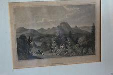 Originaldrucke (1800-1899) aus Baden-Württemberg mit Landschafts-Motiv