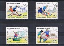 Serie voetbal / football (26) WK 1990 - Niger