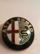 emblema alfa romeo 240051016 bomisa milano plastica vintage