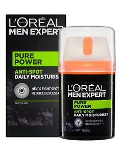 L'Oreal Men Expert Pure Power - Daily Anti-Spot Control Moisturiser Cream 50ml