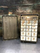 USED 22 Drawer Brenner Military Insert Cabinet Medical Instrument & Supply Chest