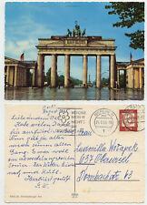 45992-Berlin-Brandebourg PORTE DE L'ORIENT-Affichage Carte, tourné 24.8.1965