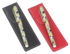 More details for australian shepherd dog pen in a choice of red or black pen case perfect gift