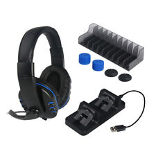 TP4-18101 Gaming 5in1 Headphone Game Headset Kit for PS4 Slim Game Console