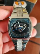 FOSSIL Superman Returns Watch Only 1000 Made LL1003 New in Box #835
