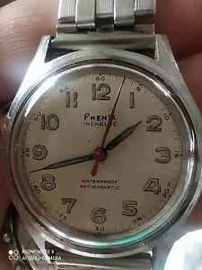 Montre Suisse swiss Phénix Watch Co Mécanique Rare 140 Sc lot