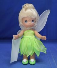"Tinker Bell Lil' Tinkerbelle 7"" Vinyl Doll Disney Precious Moments #5130 Signed"