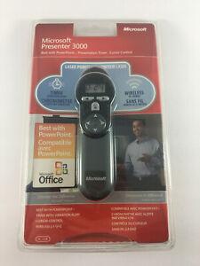 Microsoft Wireless Presenter Laser Pointer 3000 Wireless Timer Powerpoint New