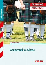 Training Englisch Unterstufe / Grammatik 6. Klasse für G8: Grundwissen, Aufgaben