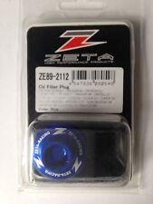 YAMAHA  YZF250   YZF 250  YZ250F   2001-2018   ZETA OIL FILLER PLUG   BLUE