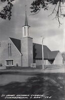 Postcard RPPC St James Catholic Church Chamberlain South Dakota