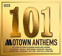 101 MOTOWN ANTHEMS 5 CD BOXSET VARIOUS ARTISTS - NEW RELEASE MAY 2017