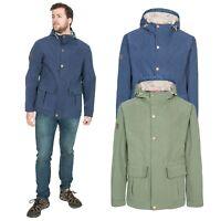 Trespass Mens Hooded Jacket Casual Waterproof Everyday Coat XXS-XXXL